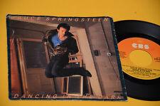 "BRUCE SPRINGSTEEN 7"" 45 DANCING IN THE DARK ORIG ITALY 1984"