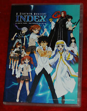A Certain Magical Index Part 2 Ep. 13-24 Anime DVD R1 FUNIMATION
