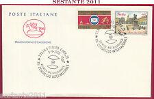 ITALIA FDC IL CAVALLINO CONGRESSO CHIMICA METALLORGANICA TORINO 1988 Z309