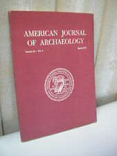 AMERICAN JOURNAL of ARCHAEOLOGY 1978 N°2