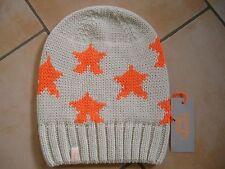 (M24) Grobstrick Mütze FREAKY HEADS Beanie Wintermütze Little Stars mit Logo