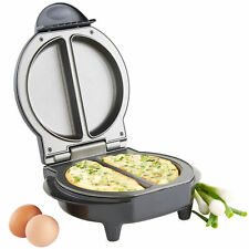 Non Stick Electric 700W Omelette Maker Breakfast Kitchen Egg Cooker Frying Pan