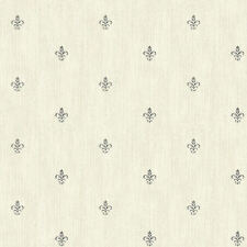 York Cabana Fleur De Lis Wallpaper  AB1863   per Double Roll