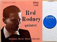 JAZZ LP: RED RODNEY QUINTET Modern Music From Chicago FANTASY 3-208 OJC-048 M-
