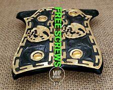 Aguila Mexicana eagle premium grips cachas  handmade Beretta 92fs 9mm 24k gold