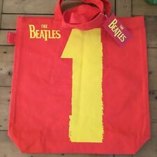 THE BEATLES - 1 - Zip Cotton Tote Bag - Strong