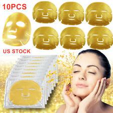 10pc 24k био-коллаген-гель для лица маска для лица против старения кожи увлажняющие маски