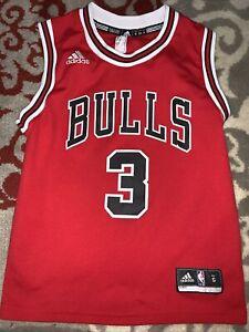 Chicago Bulls Adidas Jersey Dwayne Wade #3 Size S Small Rare