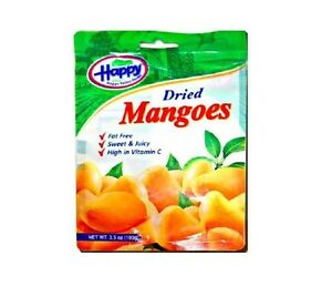 F43751-12Bag DRIED MANGOES HAPPY VALLEY