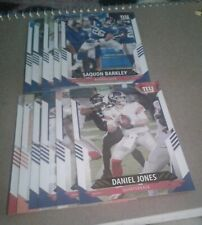 2021 Score New York Giants Team Set, Saquon Barkley 14 cards 2 RC
