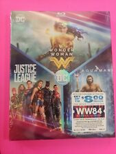 Dc 3-Film Collection: Aquaman / Justice League / Wonder Woman (Blu-ray, 2019)