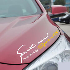 SPORTS Mind Logo Hoods/Headlight/Eyebrow Reflective Vinyl Decal Car Stickers