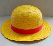 One Piece Monkey D Luffy Straw Hat Cap Cosplay New