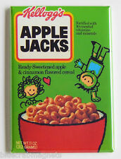Apple Jacks FRIDGE MAGNET (2 x 3 inches) cereal box breakfast