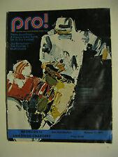 Football Game Program - San Diego CHARGERS at Denver BRONCOS - October 17, 1971