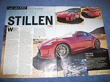 """2010 Nissan 370Z """"Stealin' the Stillen Original Article"""