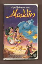 ALADDIN 1992 (Walt Disney Home Video) Black Diamond BIG Box clamshell vhs BONUS!