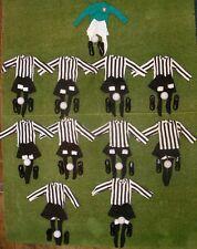 VINTAGE ACTION MAN 40th SPORTIVO LOOSE di calcio del nastro Black & White