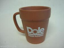 Vintage Dole Hawaii Flowers Coffee Mug Flower Pot Tiki Bar Mug Pineapple Juice