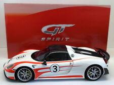 Véhicules miniatures blancs pour Porsche 1:12