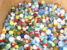 ~Great Lot of 1000 Swirl Marbles~ Various Gorgeous Mixed Colors~Classic Toys~
