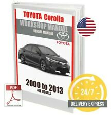 Toyota Corolla Workshop Service Repair Manual 2000-2013