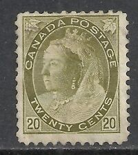 Canada stamps 1898 SG 165  MLH  VF