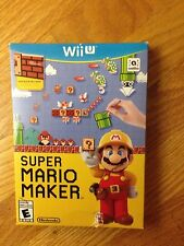 Super Mario Maker (Nintendo Wii U, 2015), brand new and factory sealed