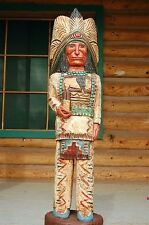 4 Foot CIGAR STORE WOODEN INDIAN Sculpture Indian Chief by Frank Gallagher