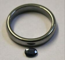 Natural azul zafiro sueltos piedras preciosas 5X4MM 0.4CT SA62D Gema Facetada Oval