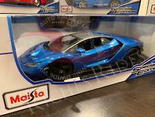 Maisto 1:18 Scale Special Edition Diecast Model - Lamborghini Centenario (Blue)