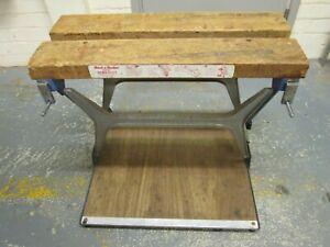 Early Vintage Black & Decker Workmate WM125 Bench.