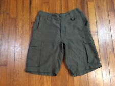 Boy Scouts Shorts Bsa Official Uniform Green Size Relaxed Small Fits 29 x 10