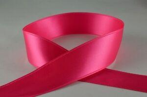 Personalised Fuchsia (34) 25mm Ribbon Birthday Christmas Wedding Anniversary ,