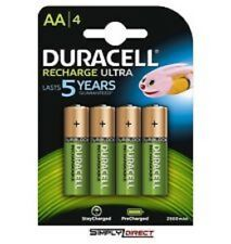 Duracell AA 2500mAh Ready To Use Rechargeable Battery - Pack of 4