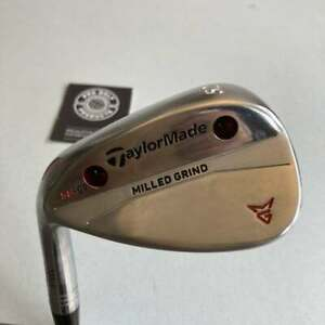 Tour Issue TaylorMade Milled Grind SB 52° Wedge w/ Modus 3 Tour 105 Stiff Steel