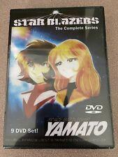New ListingStar Blazers Yamato Complete Series On 9 Dvd's