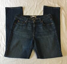 "Levi's 505 Straight Leg Jeans Denim Medium Wash sz 10M Rise 10"""
