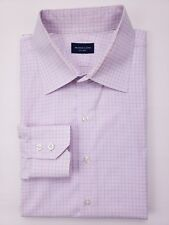 Proper Cloth Shirt 17 Checked White Pink Blue Custom Cotton Spread Collar Mens