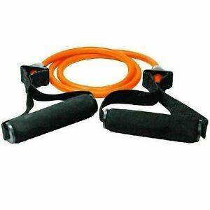 Strong Resistance Tube Band Set - Yoga Sports Gym Home Exercise Workout-Orange