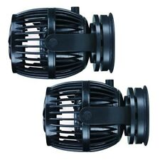 2 Packs Jebao RW15 PP15 Reef Wave Maker with Controller Powerhead Pump 110v US