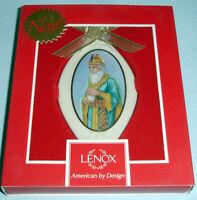 Thomas Blackshear Ebony Visions Ornament The Wise Man with Myrrh by Lenox New