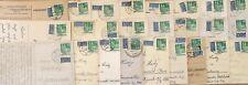 25 Postkarten um 1950 mit Notopfer