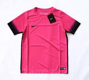 Nike Unisex Laser PR III Football/Soccer S/S Jersey – Hot Pink/Black / L