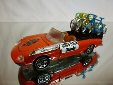 MEBETOYS A65 ALFA ROMEO SPIDER DUETTO  GIRO d'ITALIA BIANCHI ORANGE 1:43 - GOOD