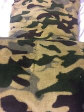 Camo Multi-Color Blanket King Size Bedding Throw Fleece Flannel Soft Lightweight