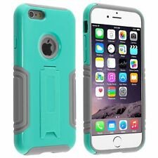 Plain Silicone/Gel/Rubber Cases & Covers with Kickstand for iPhone 6