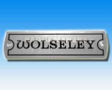 WOLSELEY Rocker Cover or  Vehicle Chassis Plate A Series BMC Engine