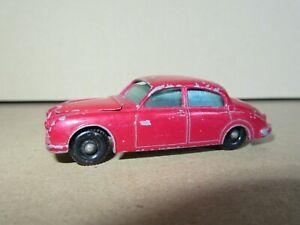 193Q 1962'S Matchbox No 65-B England Jaguar 3.4 Liter 1:75 Lesney