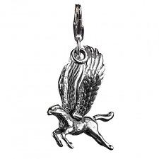 Harry Potter Sterling Silver Buckbeak Clip on Charm by The Carat Shop